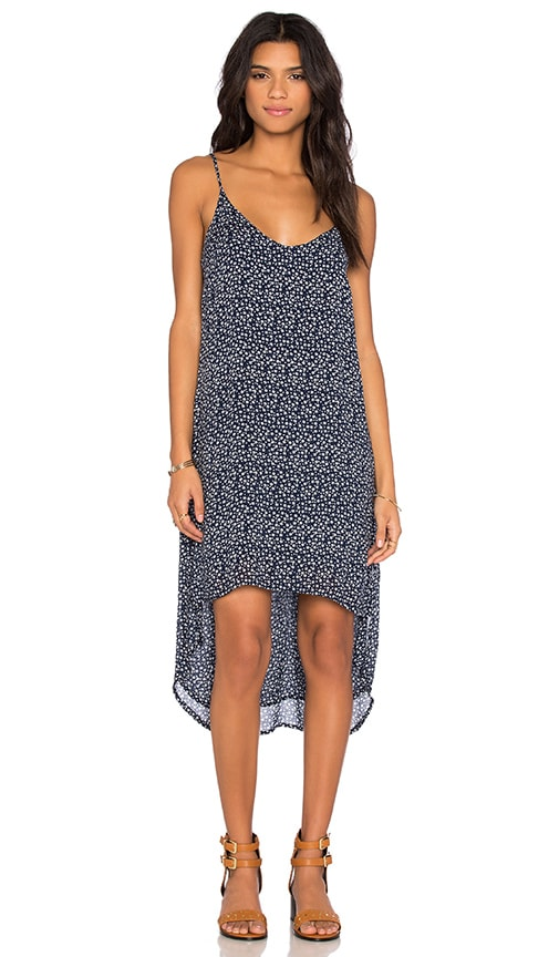 Bella Dahl High Low Hem Dress in Navy