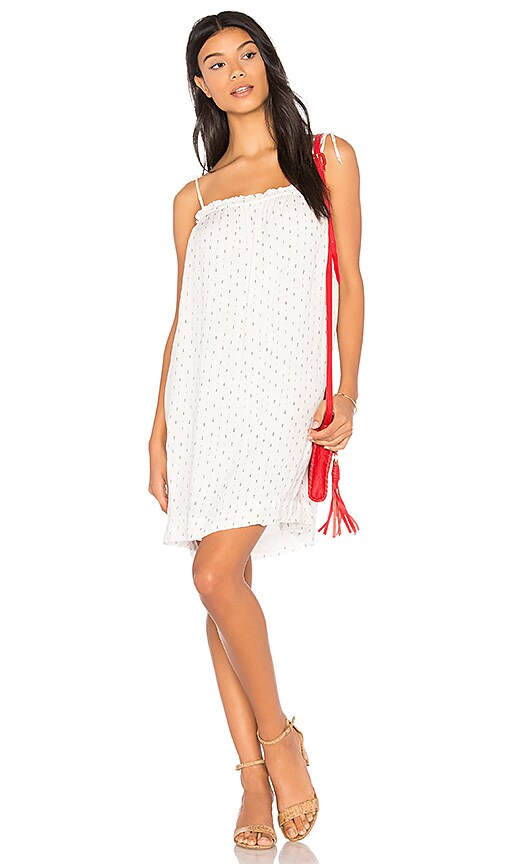 Bella Dahl Tie Strap Dress in White