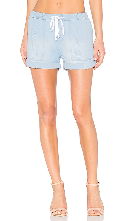 Bella Dahl Easy Pocket Short in Blue