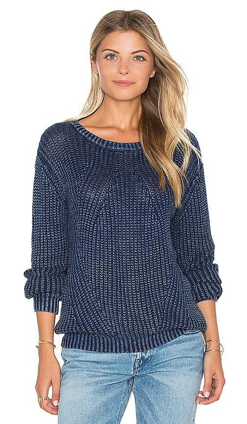 Distressed Dye Sweater