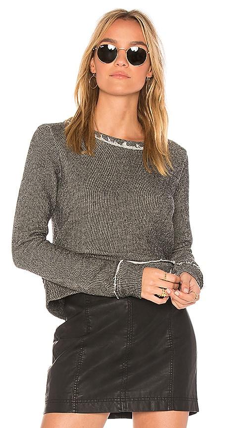 Bella Dahl Essential Sweatshirt in black