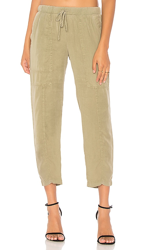 Bella Dahl Utility Pant in Olive