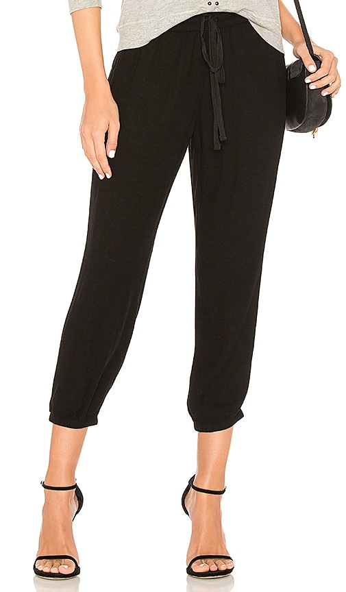 Bella Dahl Easy Sweat Pant in Black