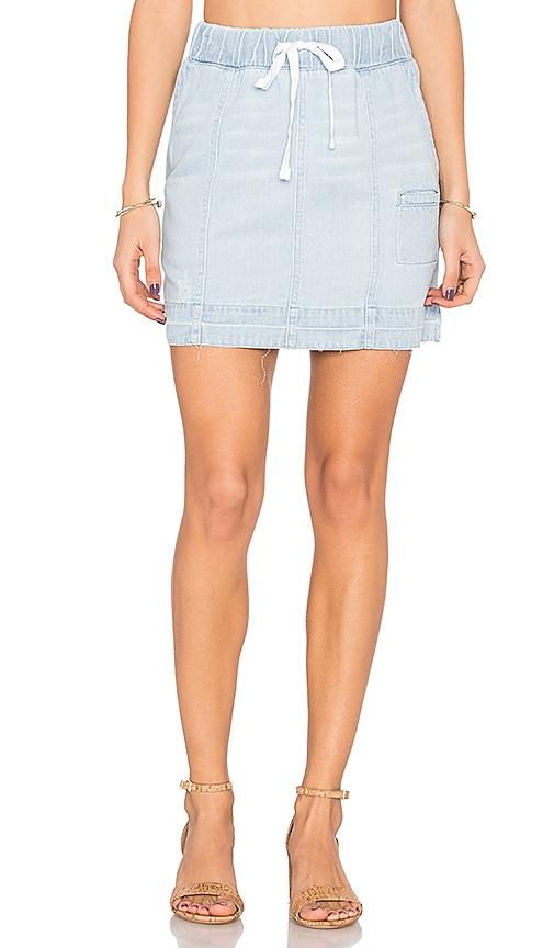 Bella Dahl Welt Pocket Skirt in Maui Wash
