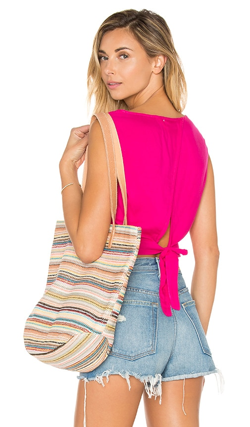 Bella Dahl Tie Back Tank in Pink
