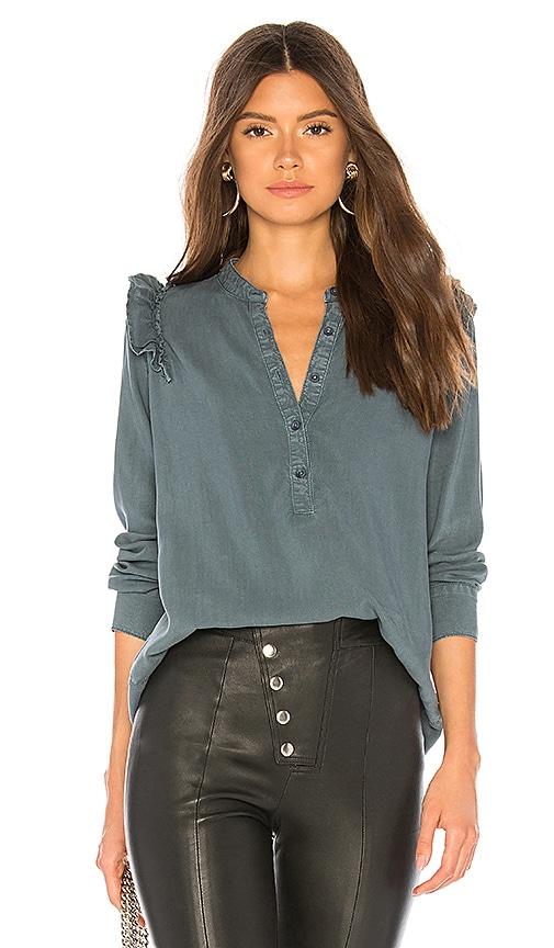 83f714f18 Ruffle Shoulder Pull Over Blouse. Ruffle Shoulder Pull Over Blouse. Bella  Dahl