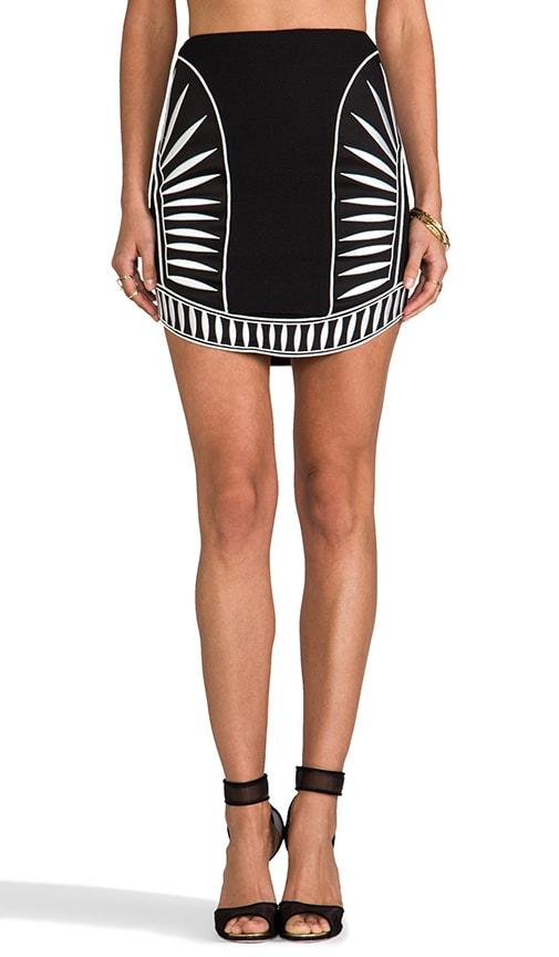 Contrast Skirt