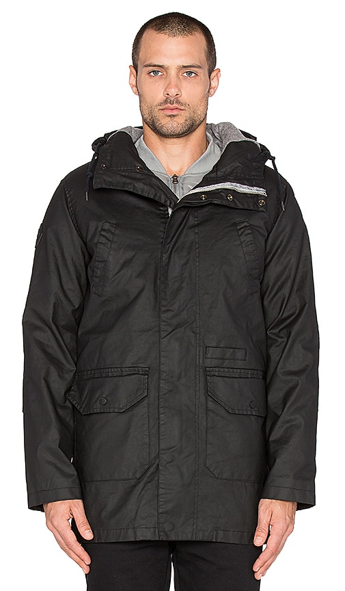 Bellfield Pinto 2 in 1 Parka With Bomber in Black