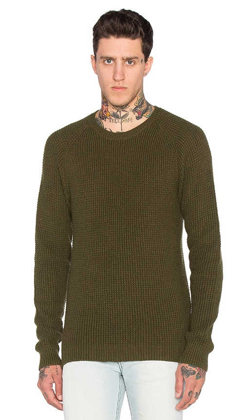 BLK DNM Sweater 65 in Army