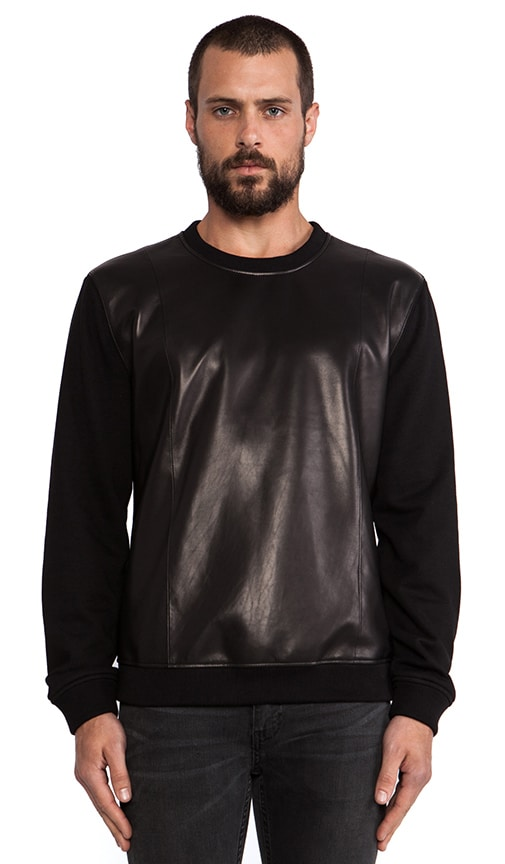 Leather Sweatshirt 20