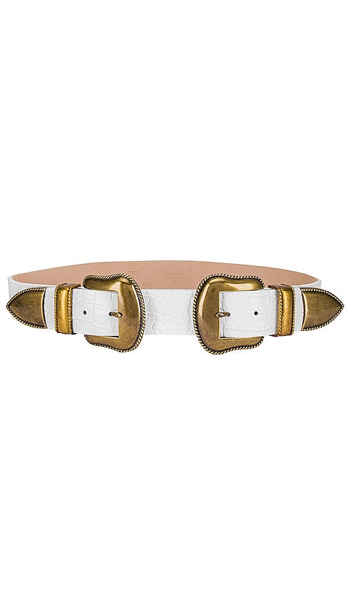 Rouge Croco Belt
