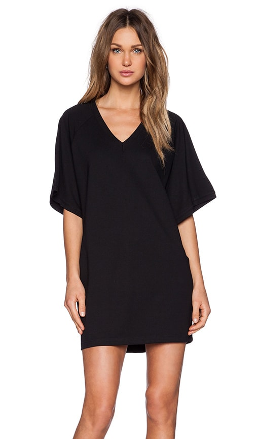 BLQ BASIQ Shirt Dress in Black
