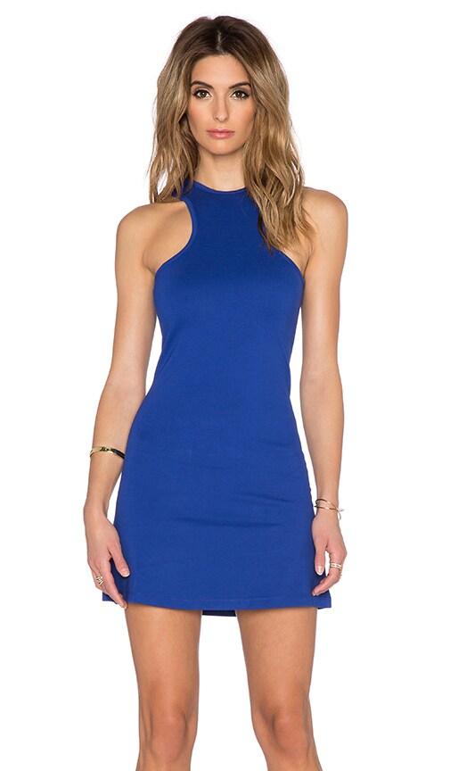 BLQ BASIQ Mini Dress in Cobalt
