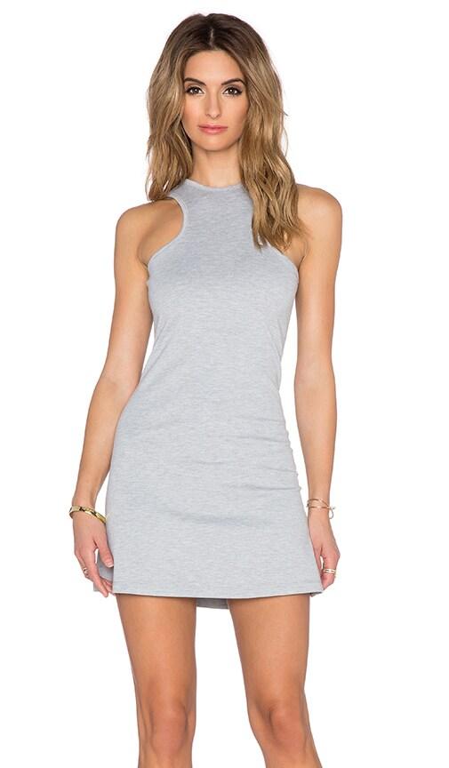 BLQ BASIQ Mini Dress in Heather Grey