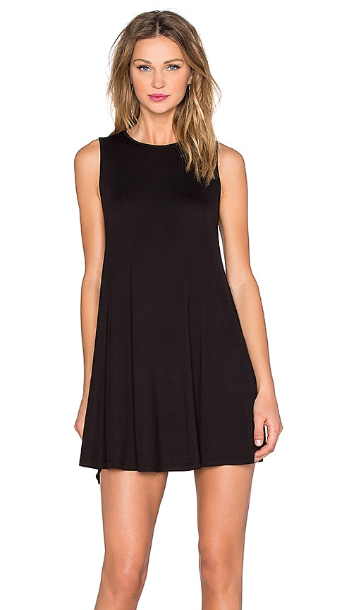 BLQ BASIQ Shift Dress in Black