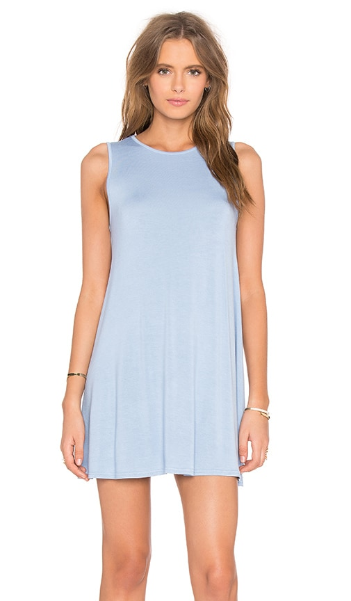 BLQ BASIQ Shift Dress in Blue