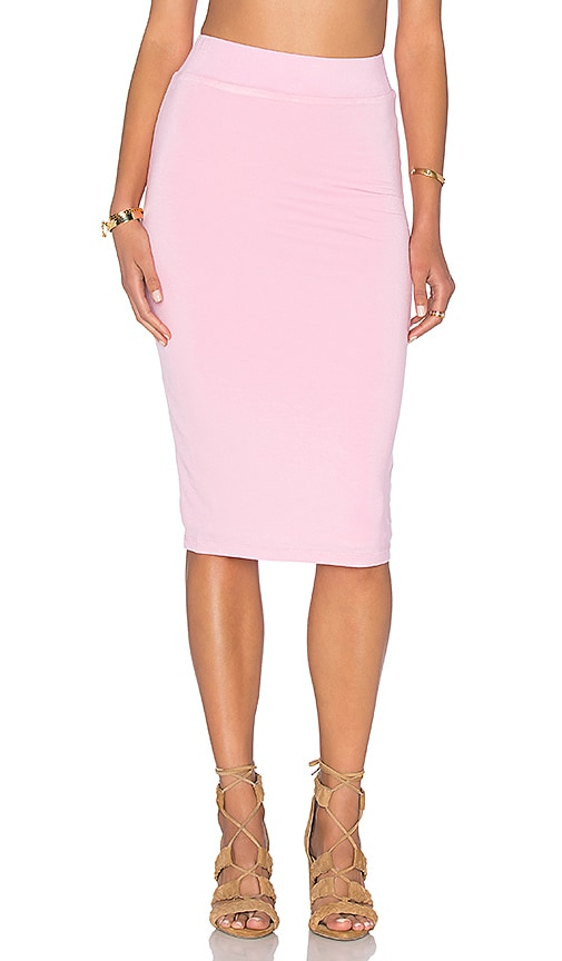 BLQ BASIQ x REVOLVE Pencil Skirt in Pink