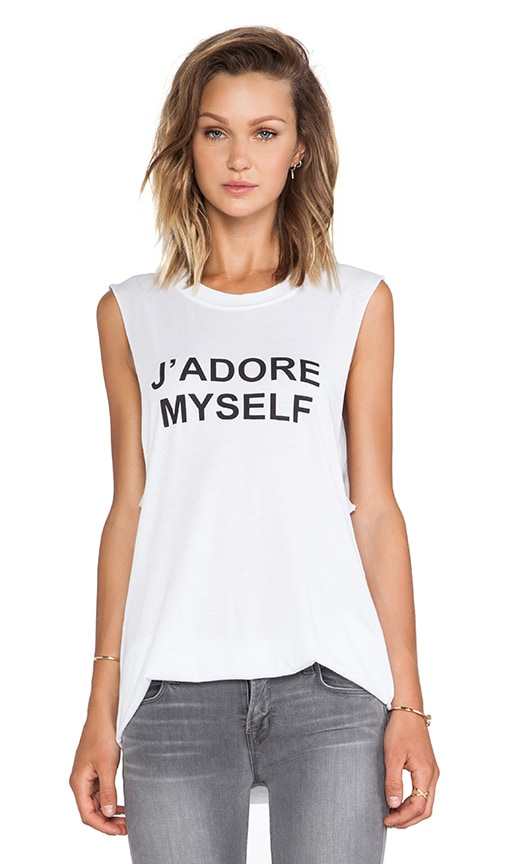 BLQ Basics J' Adore My Self Graphic Tank