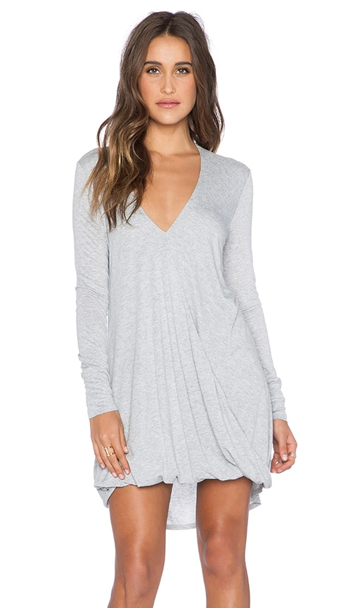 Blue Life Long Sleeve Cassidy Dress in Heather Grey