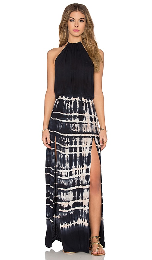2 Slit Halter Dress