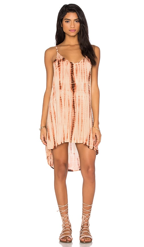 Blue Life Exile Dress in Tan