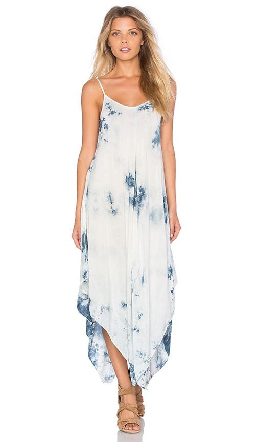 Blue Life Sundown Hanki Midi Dress in Blue
