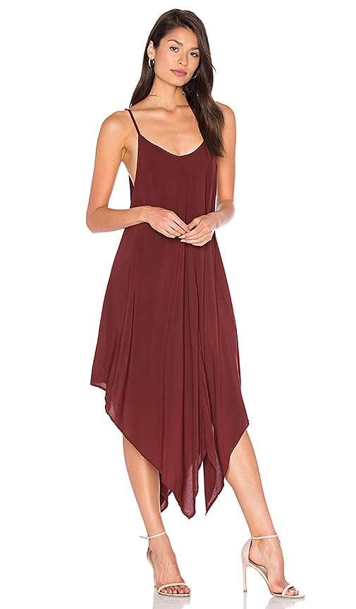 Blue Life Sundown Maxi Dress in Rust