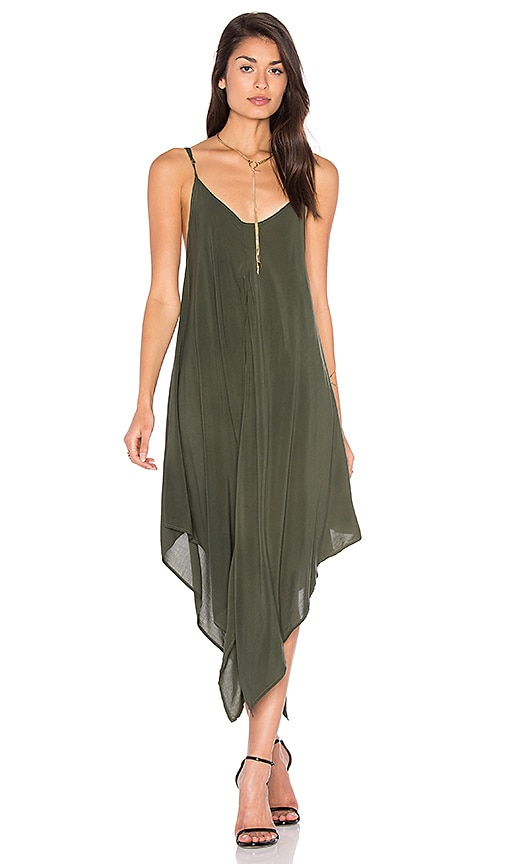 Blue Life Sundown Maxi Dress in Olive