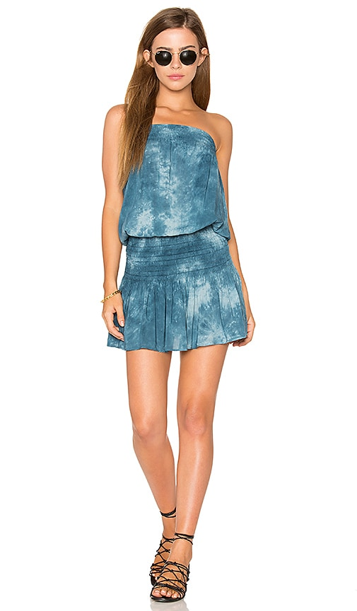 Blue Life Good Karma Mini Dress in Blue