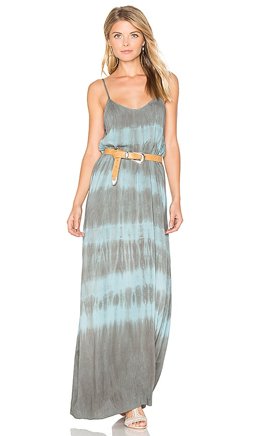 Blue Life Spring Lovin Maxi Dress in Blue