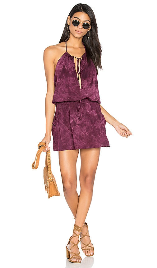 Blue Life New Island Halter Dress in Purple
