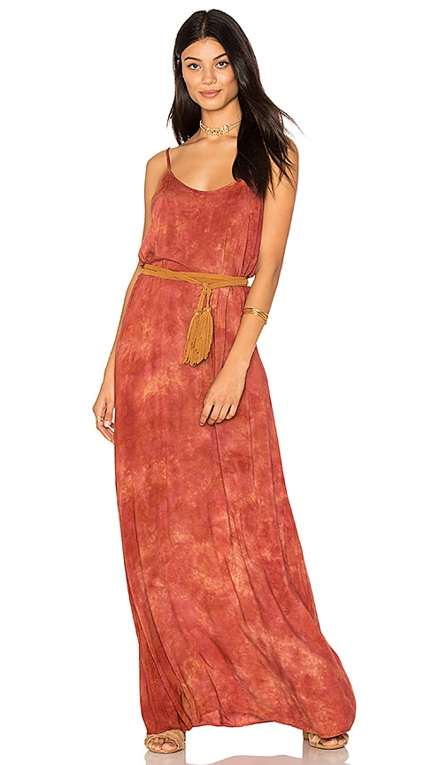 Blue Life Spring Lovin Maxi Dress in Rust