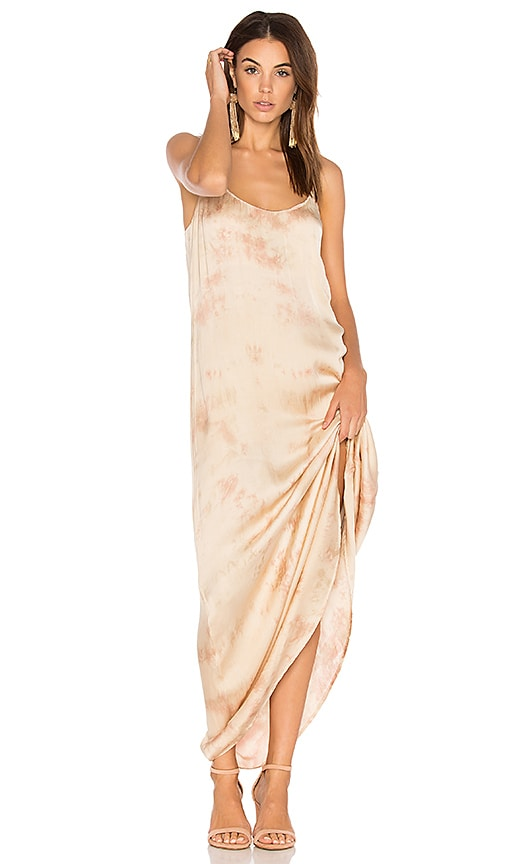 Blue Life Kate Maxi Dress in Beige
