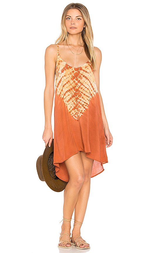 Blue Life Exile Dress in Burnt Orange