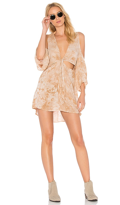 Blue Life Juliette Dress in Tan