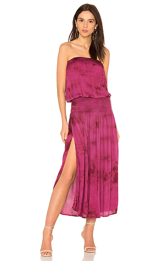 Blue Life Good Karma Maxi Dress in Burgundy