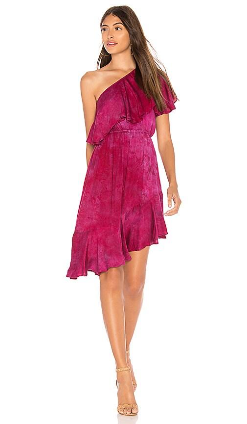 VACAY RUFFLE DRESS