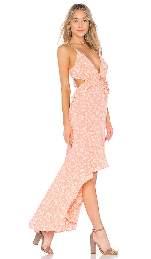 Blue Life Jolie Maxi Dress in Coral