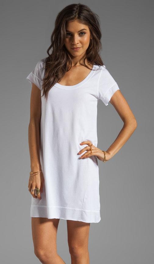 Roll Hem T-Shirt Dress