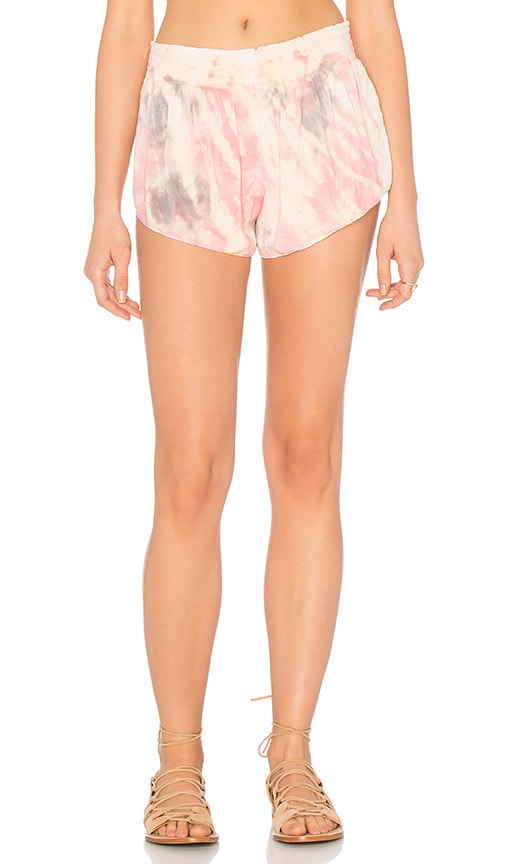 Blue Life Beach Bunny Short in Pink