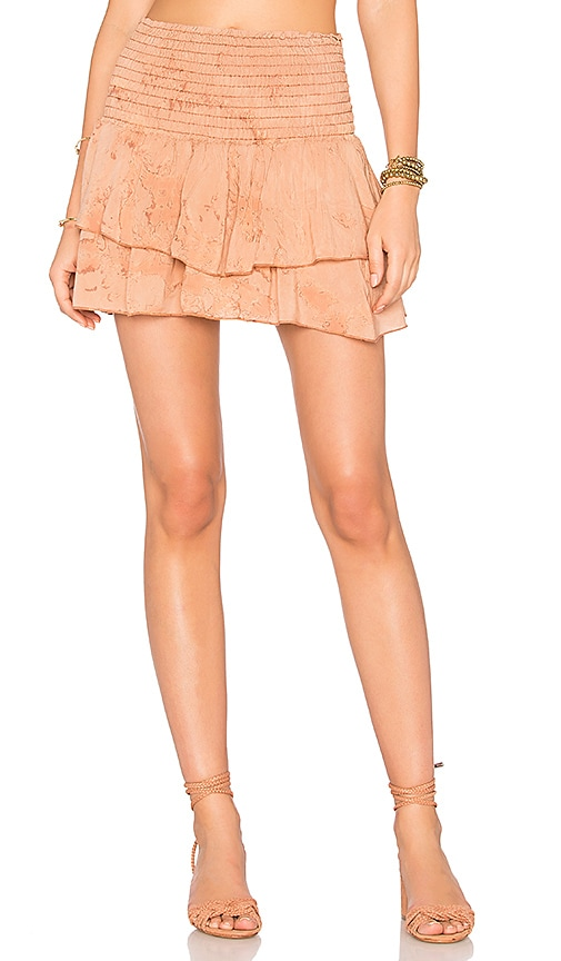 Blue Life Perfect Skort in Orange