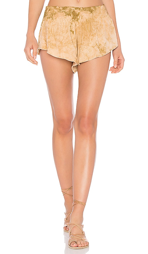 Blue Life Beach Bunny Short in Brown