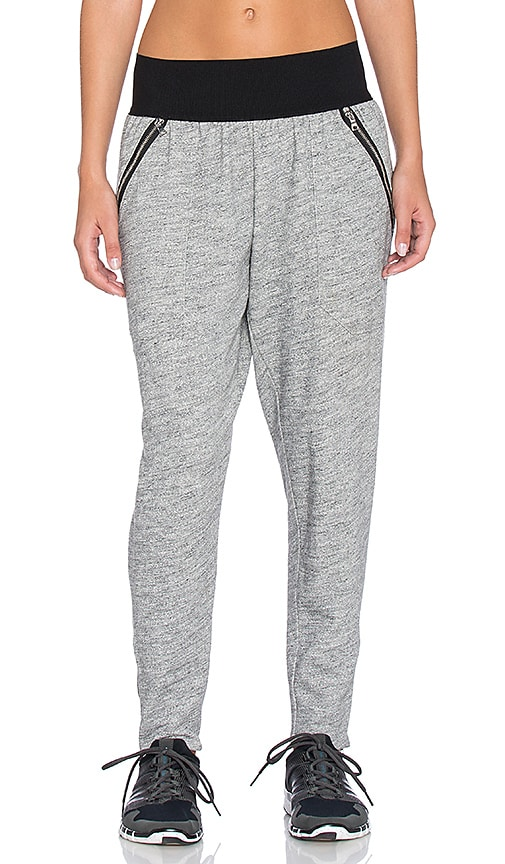 Blue Life Unzipped Sweatpant in Gray