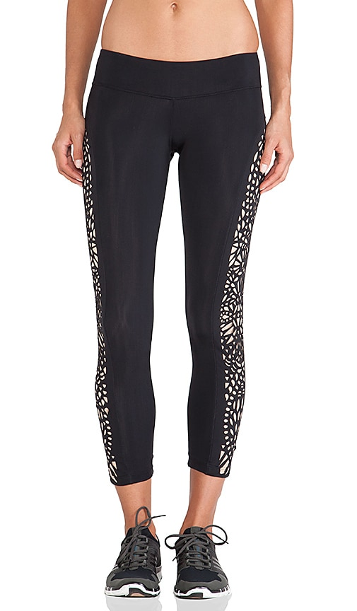 Fit Laser cut Legging