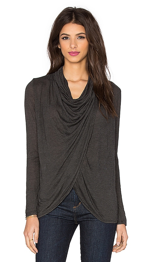 Fit Cowl Neck Top