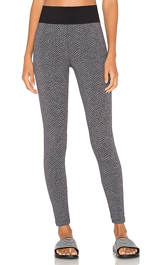 Blue Life High Rise Legging in Grey