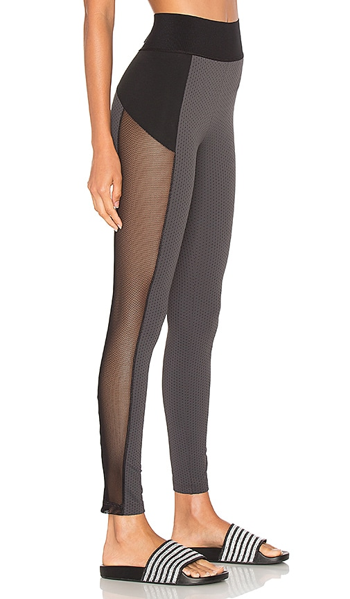 Blue Life Cut It Out Legging in Grey