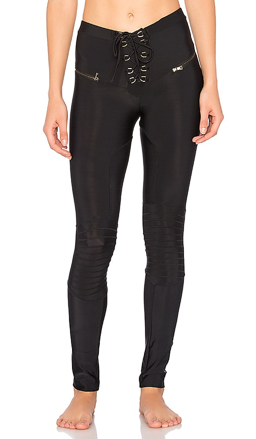 Blue Life Fit Easy Rider Legging in Black