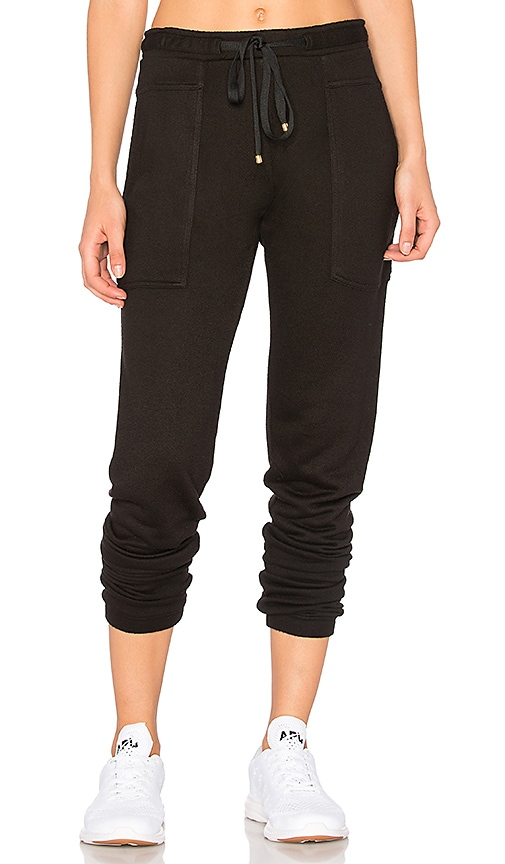 Blue Life Fit Trouser Sweatpant in Black