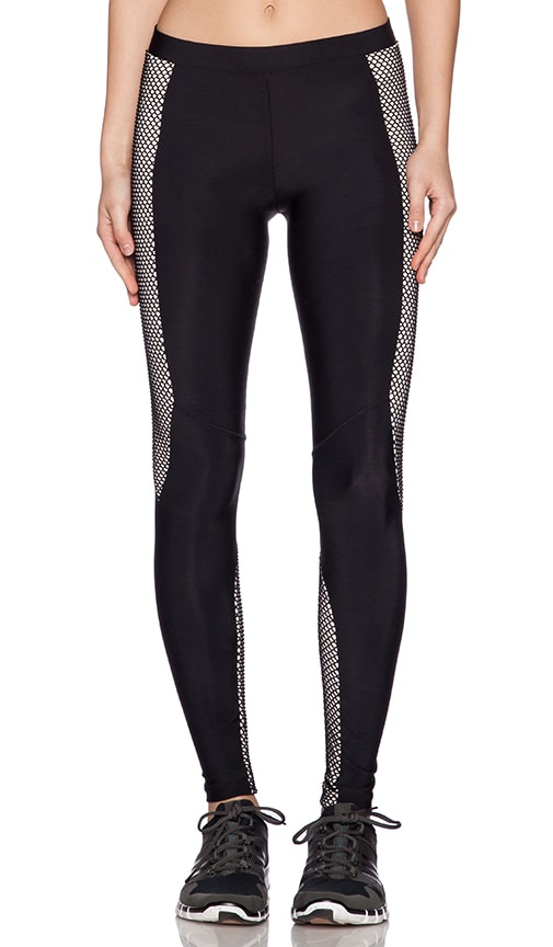 Fit Fishnet Moto Legging